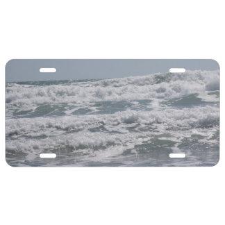 Atlantic Ocean License Plate