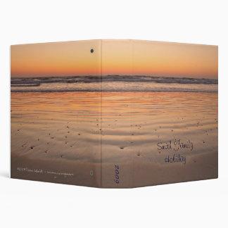 Atlantic Ocean sunrise 3 Ring Binder