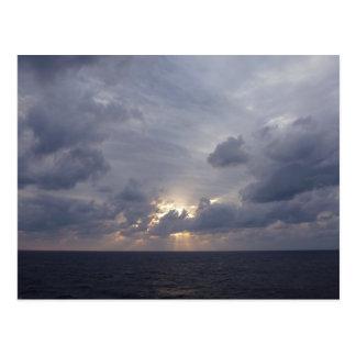 Atlantic Ocean Sunrise Postcard