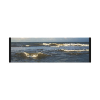 Atlantic Ocean Waves Canvas Print