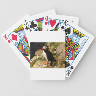 Atlantic Puffin Bicycle Playing Cards