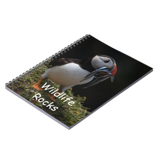 Atlantic Puffin Notebook