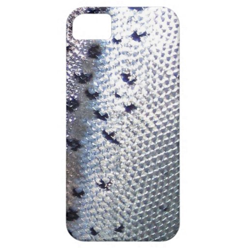 Atlantic Salmon - Fish Skin Iphone Cover iPhone 5 Cases