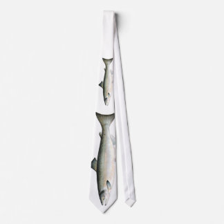Atlantic Salmon Fish Tie