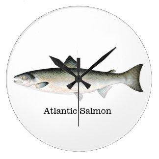 Atlantic Salmon Fish Wall Clocks