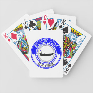 Atlantic Scuba Products Bicycle Playing Cards