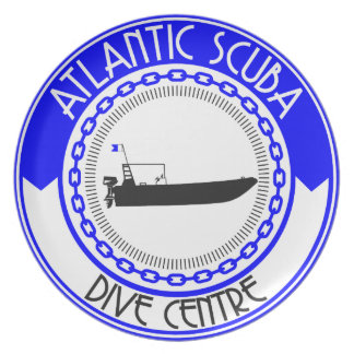 Atlantic Scuba Products Plate