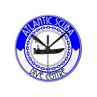 Atlantic Scuba Products Wallclock