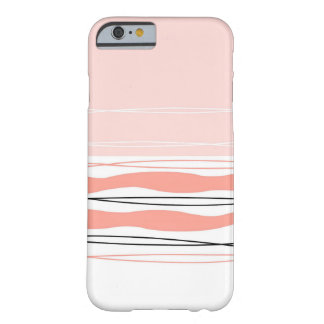 Atlantic Stripe Pink horizontal iPhone 6 case