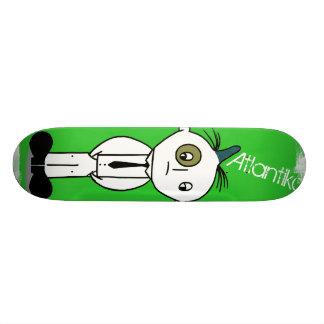 Atlantiko Green Custom Skateboard