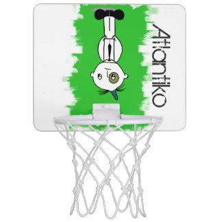 Atlantiko Green Mini Basketball Hoop