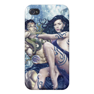 Atlantis Rising iPhone Cover Cases For iPhone 4