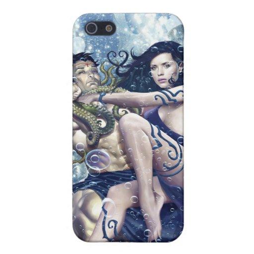 Atlantis Rising iPhone Cover iPhone 5 Cases