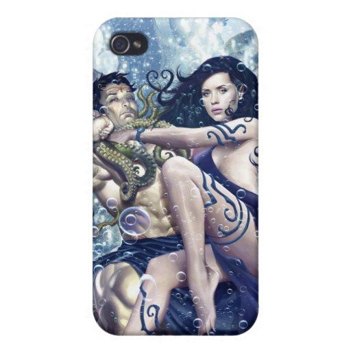 Atlantis Rising iPhone Cover Case For iPhone 4