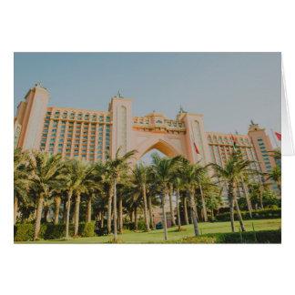 Atlantis The Palm, Abu Dhabi Card