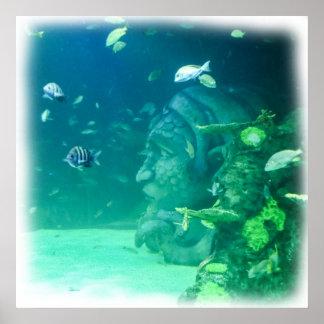 Atlantis Under the Sea Poster
