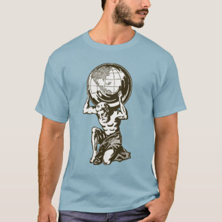 Atlas Greek Mythology T-Shirt