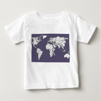 Atlas in dark lilac tee shirts
