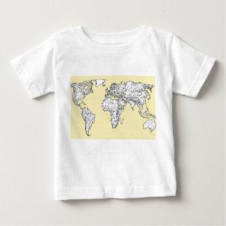 Atlas in ivory cream tshirts