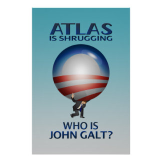 Atlas Is Shrugging Poster