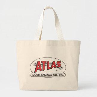 Atlas Model Railroad Company, Inc. Logo Large Tote Bag