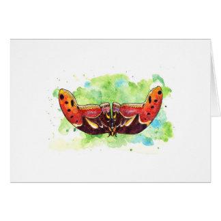 Atlas moth card