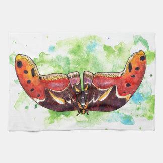 Atlas moth kitchen towel