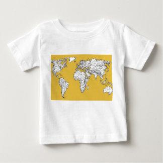 Atlas mustard drawing tshirt