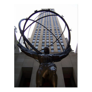 Atlas/NBC-Unversal Building Postcard