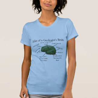 Atlas of a Geologist s Brain Funny Gifts Tee Shirts