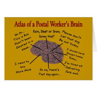 Atlas of a Postal Worker's Brain Card