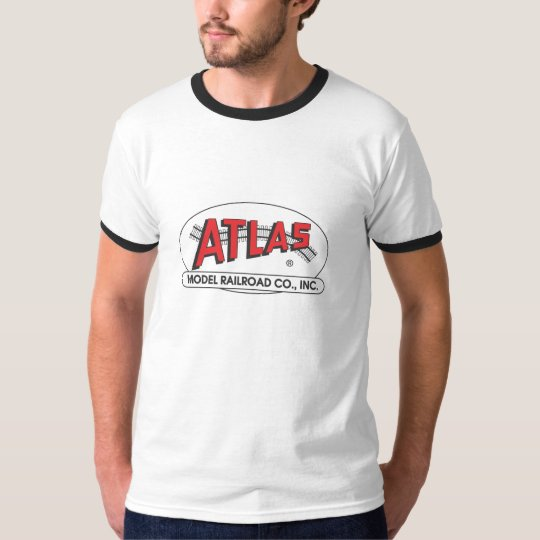 Atlas Ringer - Red Logo T-Shirt
