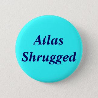 Atlas Shrugged 2 Inch Round Button