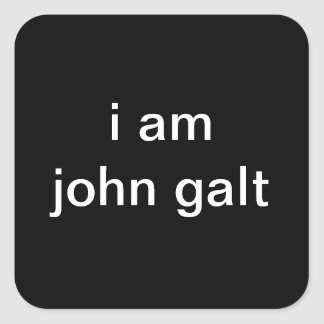 ATLAS SHRUGGED STICKERS