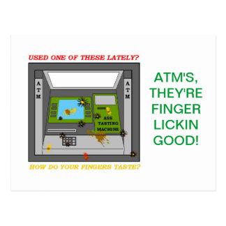 ATM TASTING CLUB POSTCARD