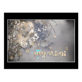 atmospheric christmas postcard