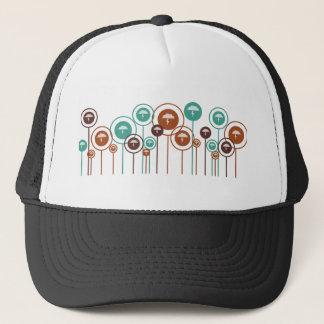 Atmospheric Sciences Daisies Trucker Hat