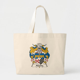 Atocha Family Crest Jumbo Tote Bag