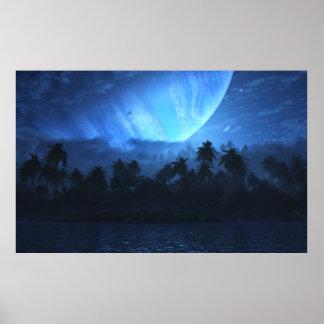 Atoll (Nightfall) Poster