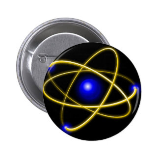 Atom atom , physics , particle , science , matter 2 inch round button
