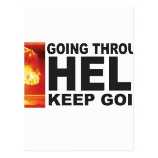 atom bomb hell postcard