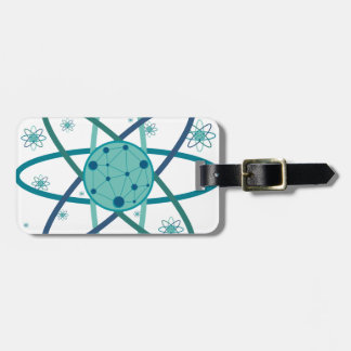 Atom Luggage Tag