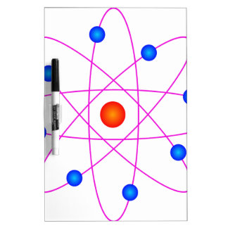 atom model vector clipart dry erase board
