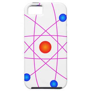 atom model vector clipart iPhone 5 cover