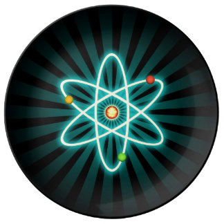 Atom Porcelain Plate