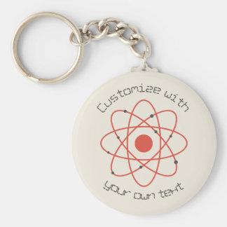 Atom Structure Keychain