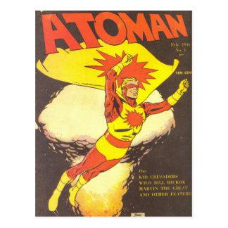 Atoman n°1 postcard