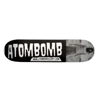 atombomb deck custom skateboard