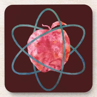 Atomic Apple Coasters