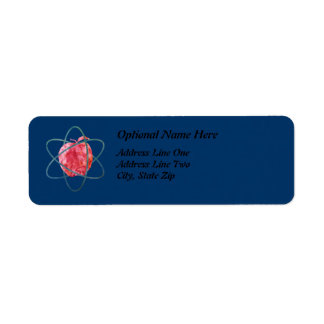 Atomic Apple Return Address Label